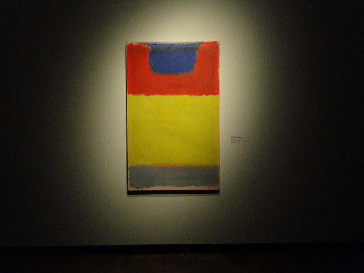 Mark Rothko wMuzeum Narodowym wWarszawie