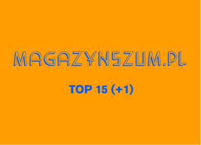 MagazynSzum.pl 2013: TOP 15 (+1)