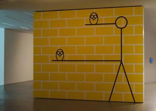 """Portrait of the Human Perspective, 2013. Widok zwystawy """"Take 5"""", CSW Toruń, 2013"""