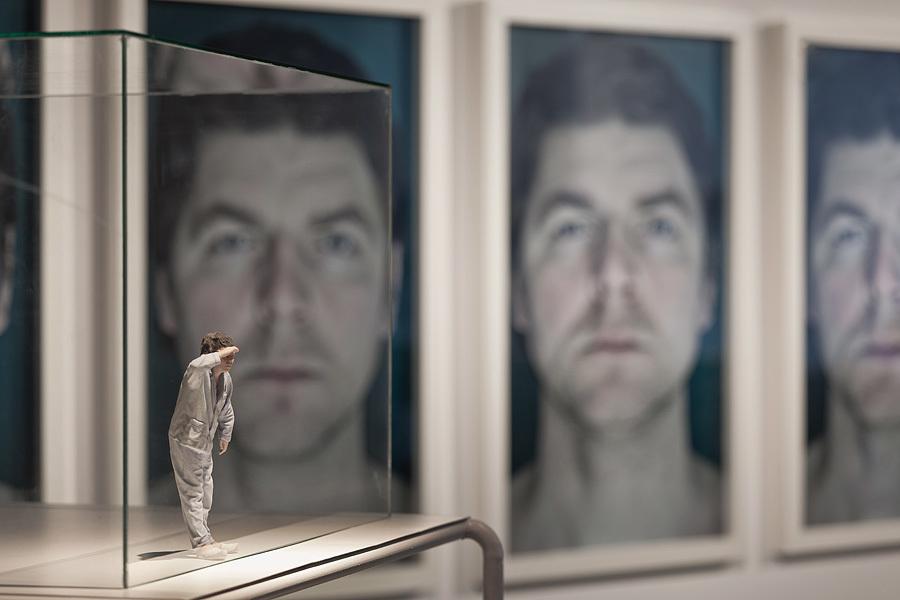 """Grzegorz Drozd, """"Autoportret"""", 2014, wydruk 3D, tworzywo sztuczne, metal, dzięki uprzejmości artysty"""