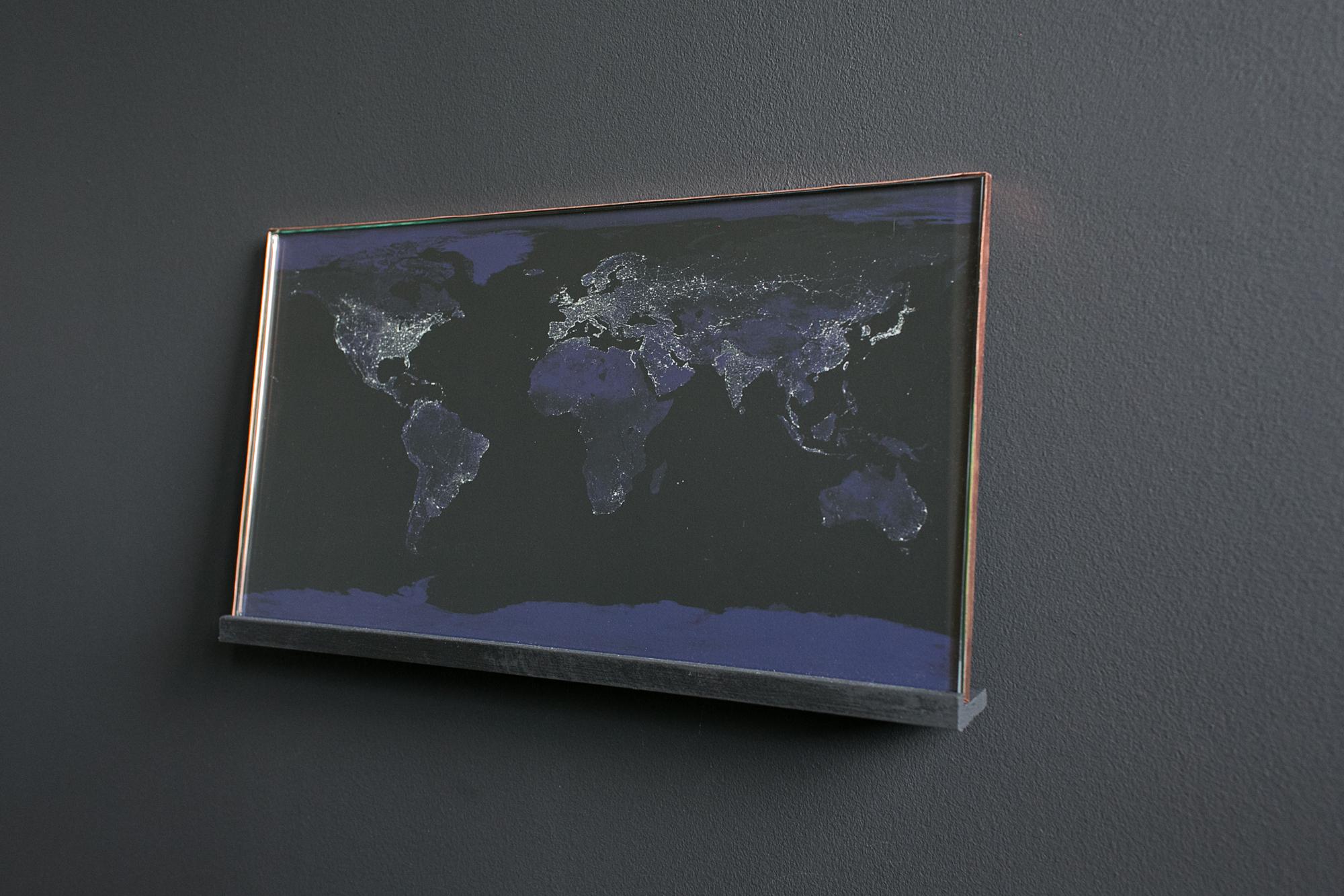 """""""Mapa zanieczyszczenia światłem"""", Anna Orłowska"""
