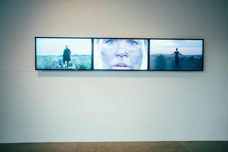 "Laura Pawela, kadry z filmu ""Untitled/Friedrich"", 2008"