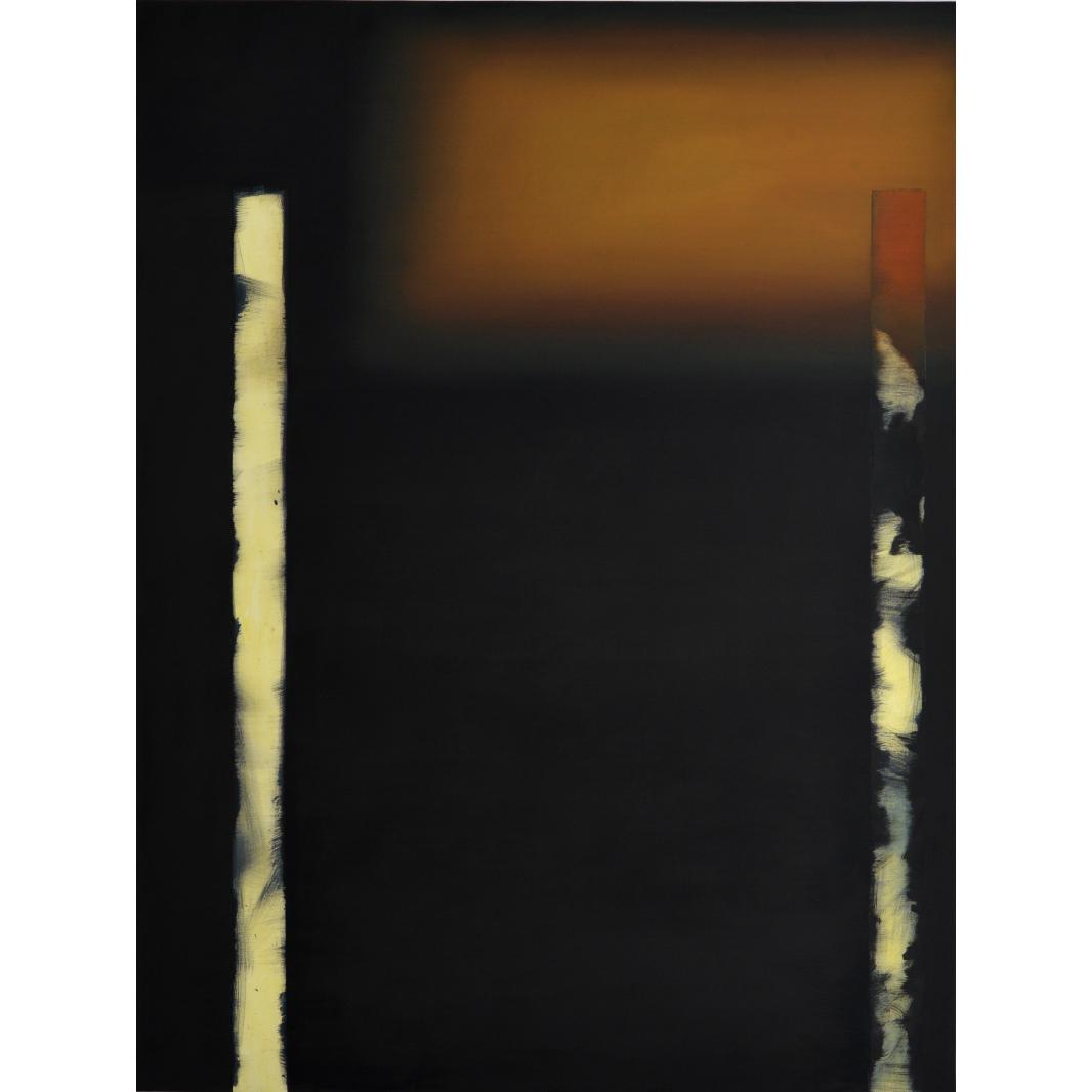 Mateusz Piestrak, beztytułu, olej napłótnie, 200 x 150 cm, 2014