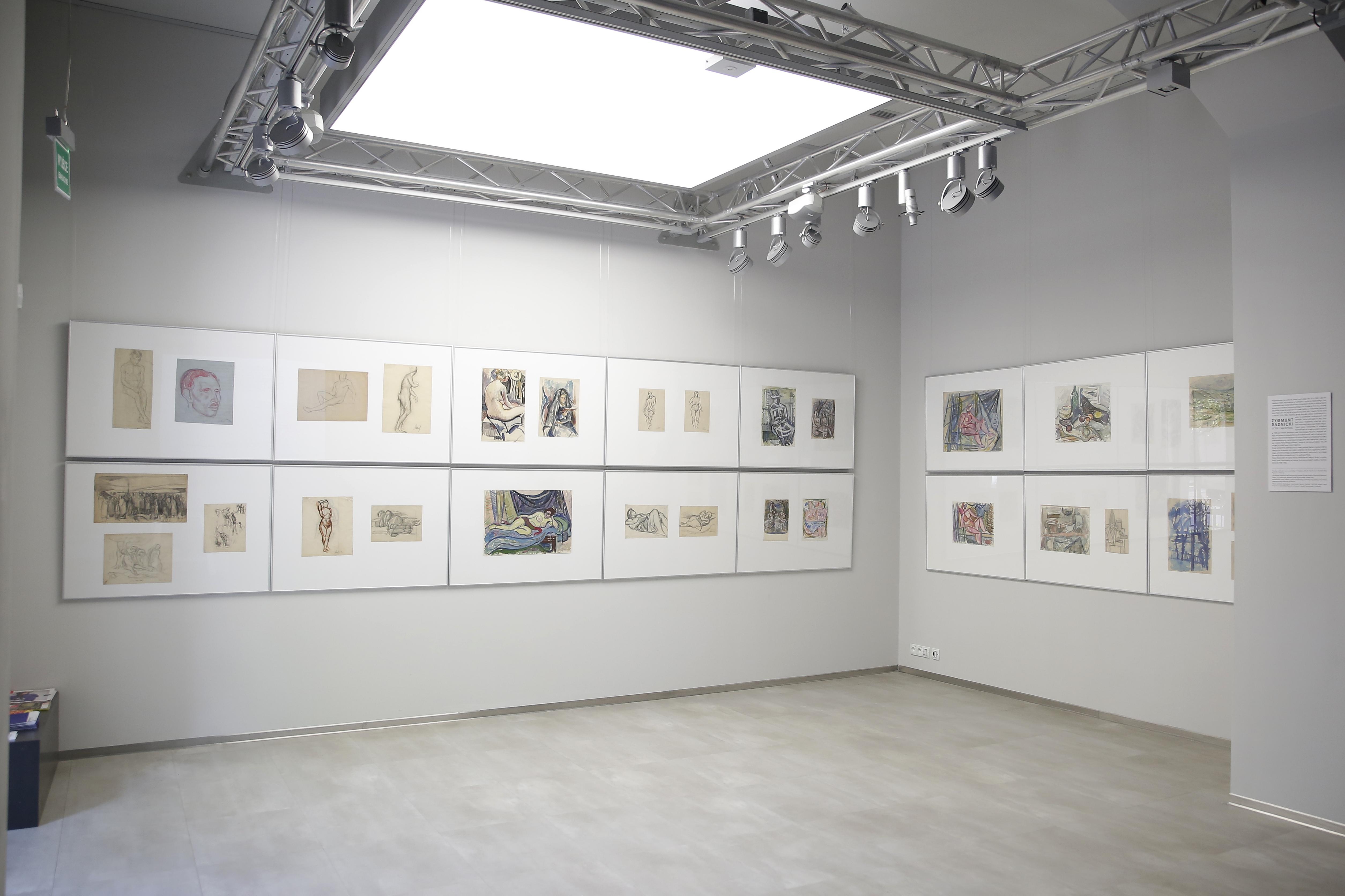 Wystawa Zygmunta Radnickiego (1894 – 1969), Galeria Akademii Sztuk Pięknych wKrakowie