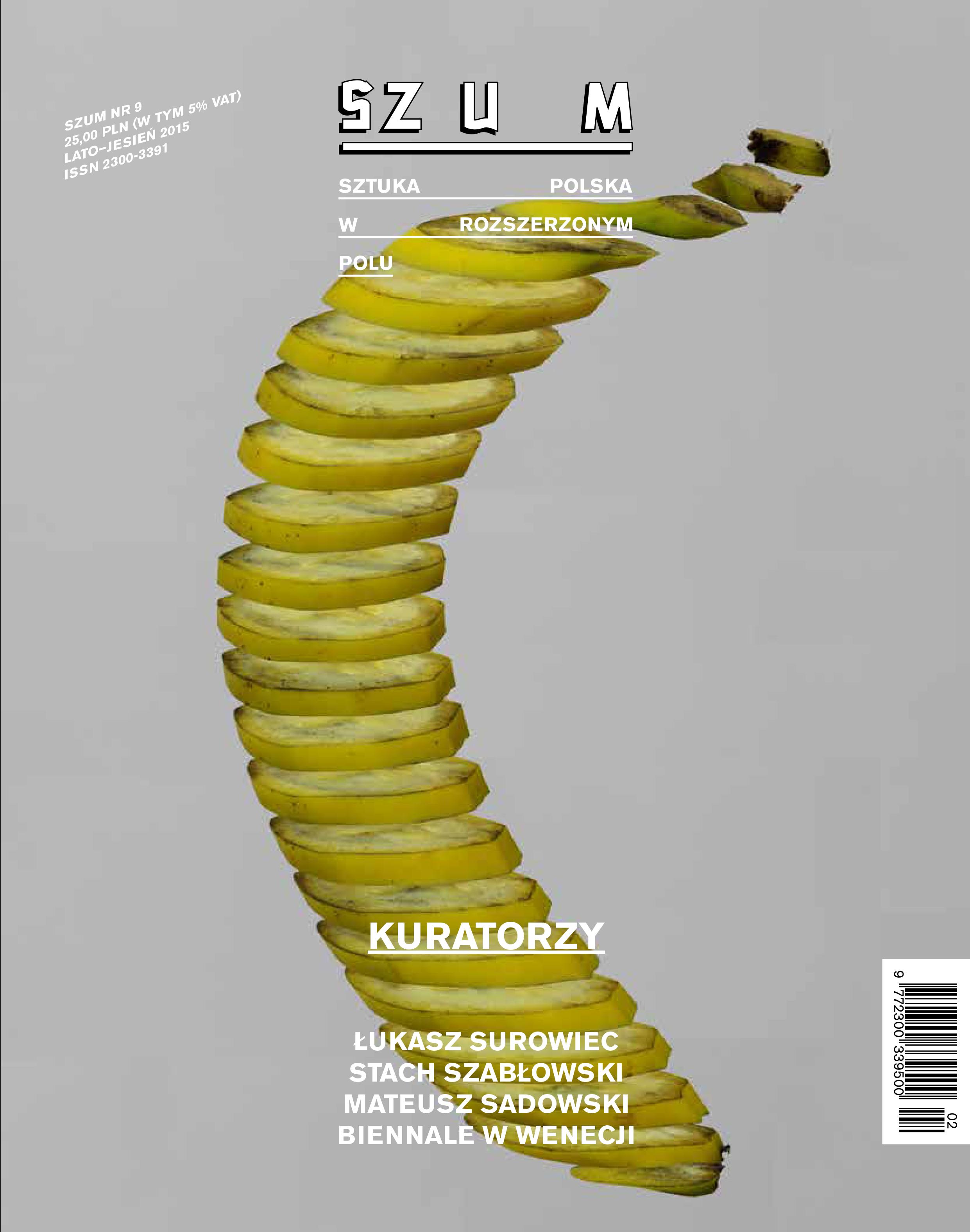 Okładka: Mateusz Sadowski, Pół banana, 2015