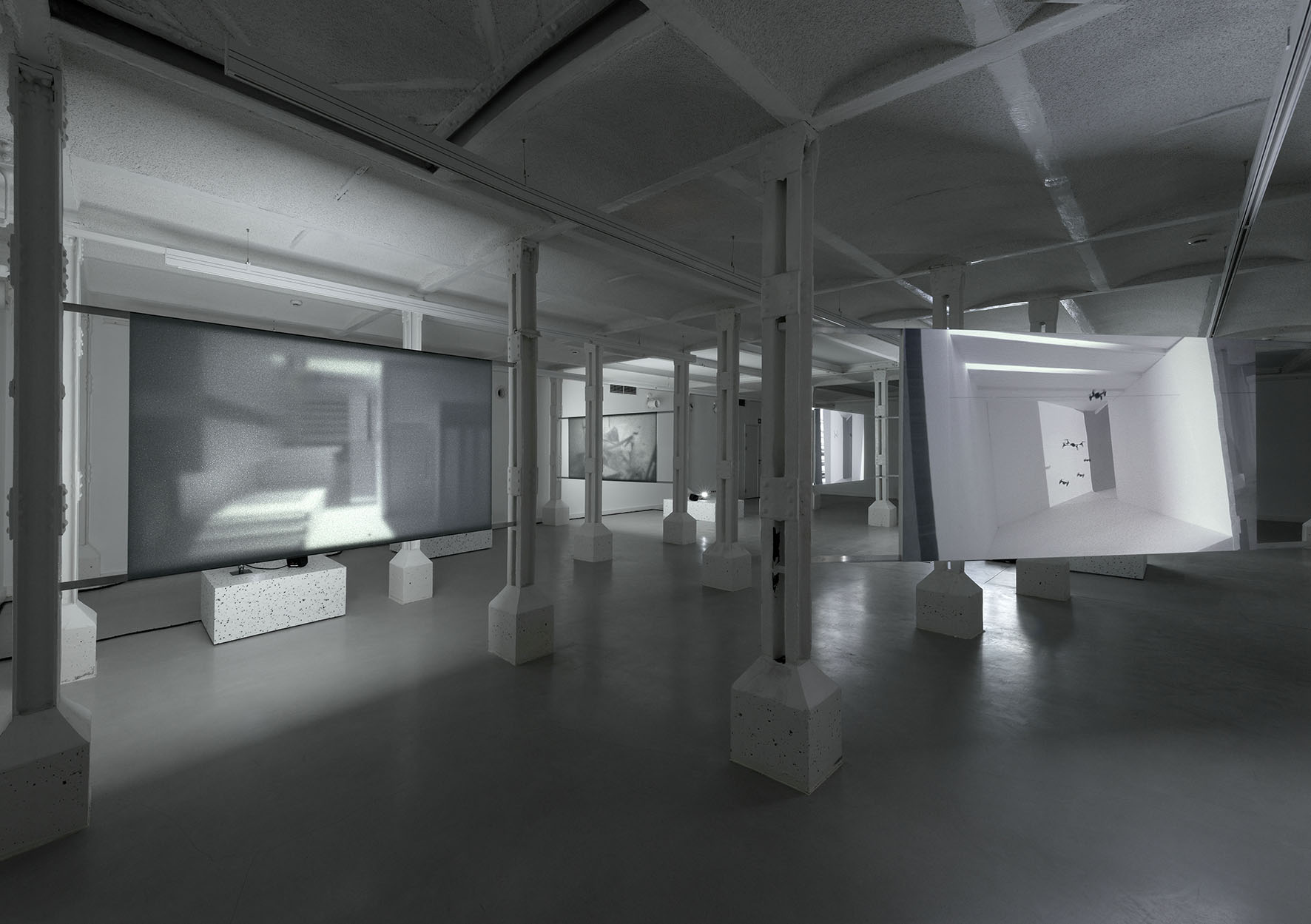 Gilad Ratman, Swarm, instalacja