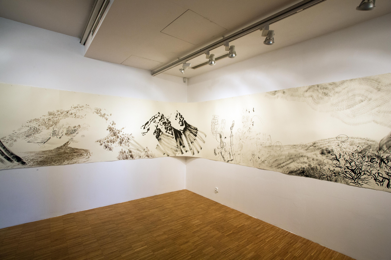 Bogdan Achimescu, rysunek panoramiczny GÓRA SPRZĘTU