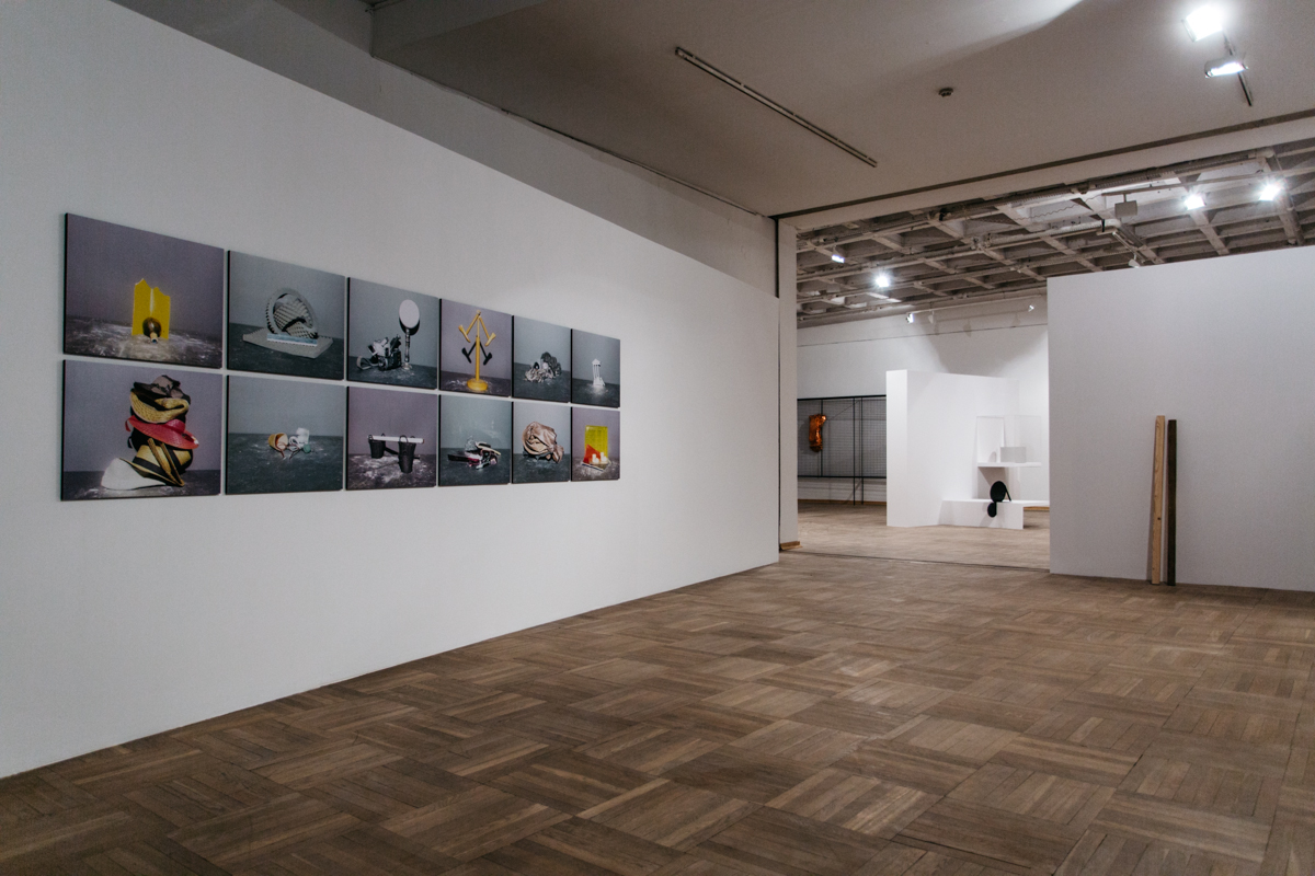 Minimalne formy realności, widok wystawy