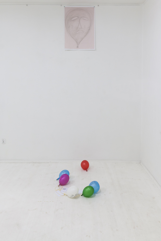 Bernd Krauß, Balloon Me!, widok wystawy