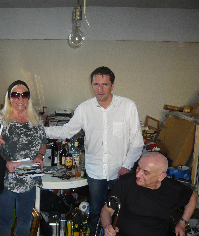 Marinko Sudac with Natalia Lach- Lachowicz and Andrzej Lachowicz