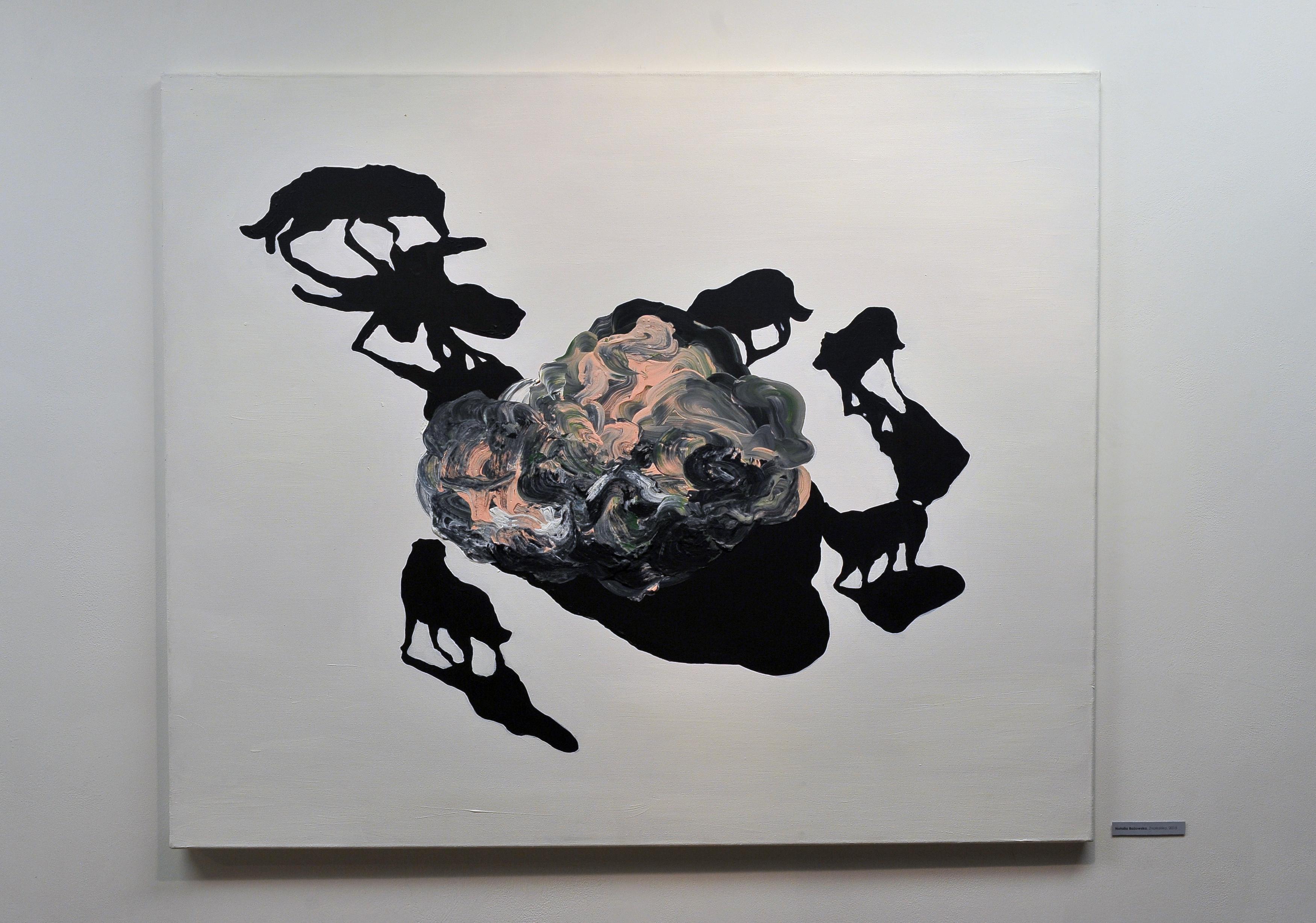 Co ukryte aktualna sztuka zeŚląska, widok wystawy