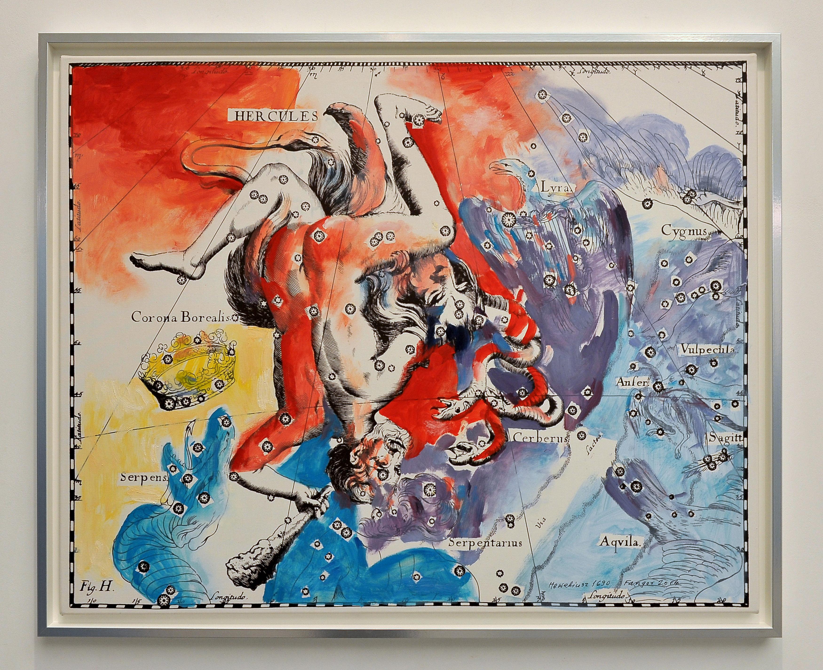 Wojciech Fangor. Heweliusz, praca zwystawy, Państwowa Galeria Sztuki