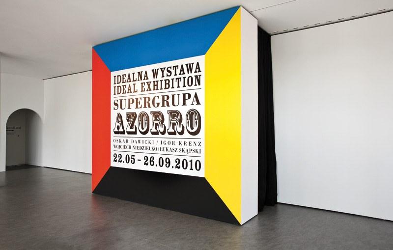 Supergrupa Azorro, Idealna wystawa, CSW Znaki Czasu, Toruń, 2010