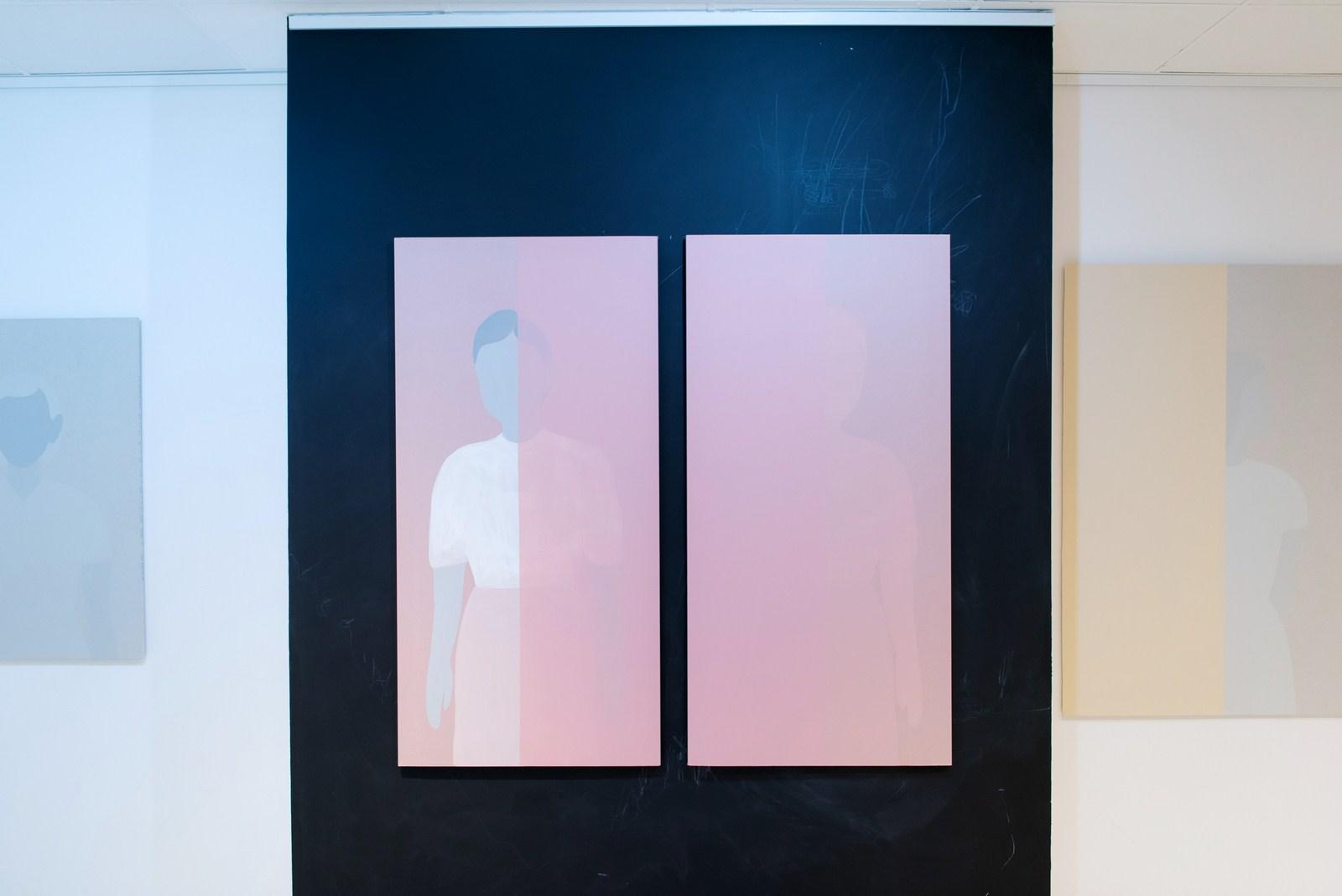 Później itrochę̨ wcześniej, widok wystawy