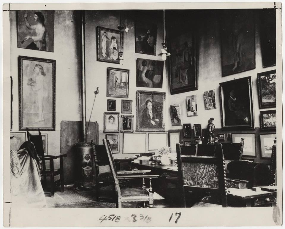27 rue de Fleurus, Paryż, 1910