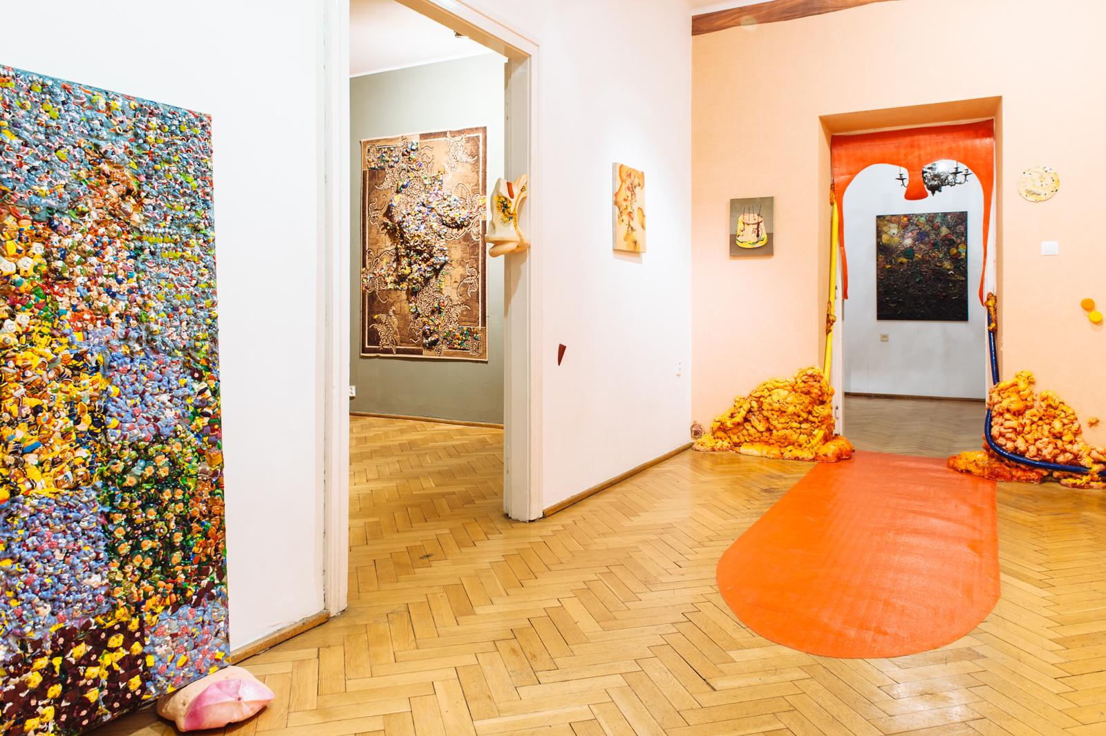 Marta Antoniak, Baccilus, widok wystawy, fot.Grzegorz Karkoszka
