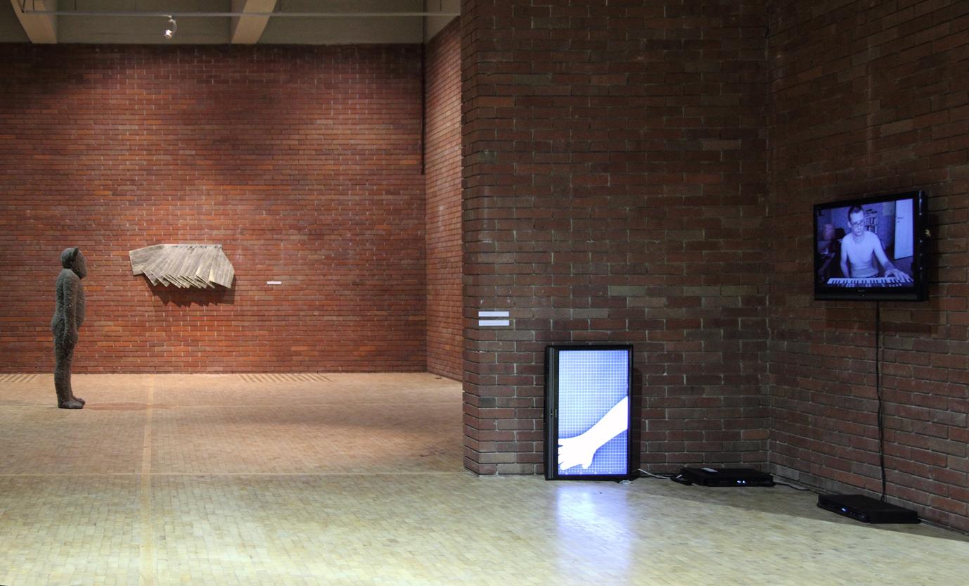 Anarchia iNowa Sztuka, widok wystawy