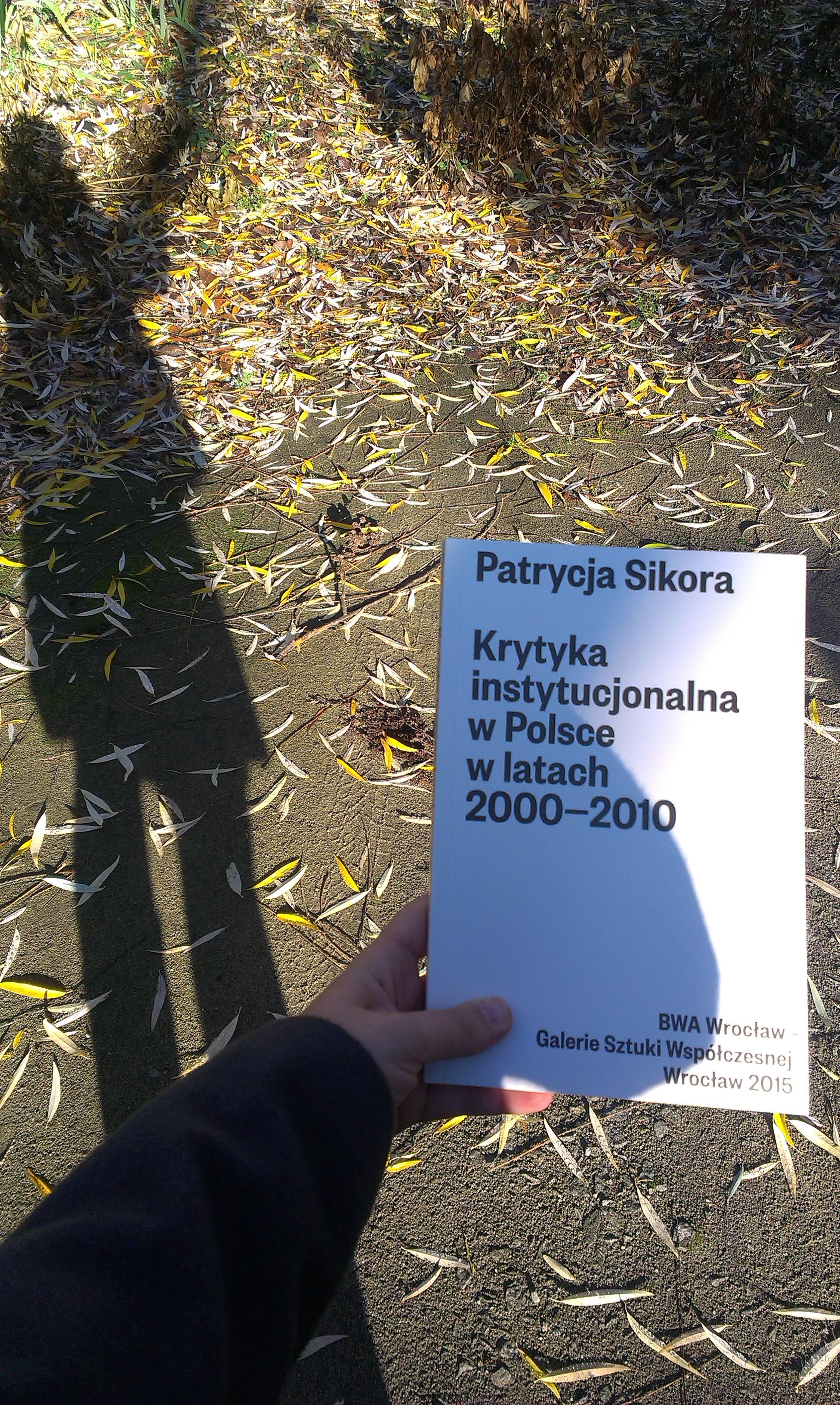 Krytyka instytucjonalna wPolsce wlatach 2000-2010, fot.Patrycja Sikora