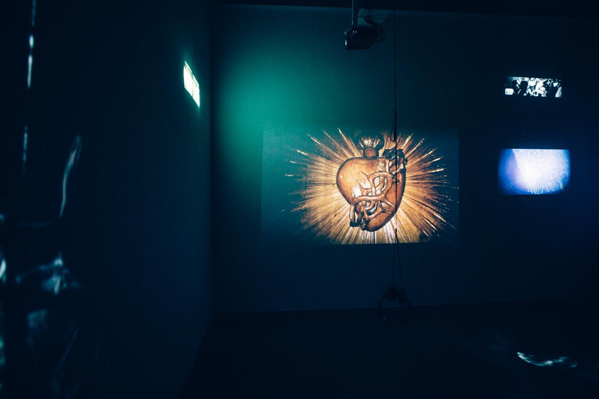 Agnieszka Lasota, The Gathering of the Rapt, widok wystawy