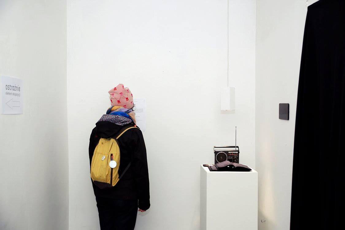 Halt, Galeria Opcja, fot.Joanna Rytter