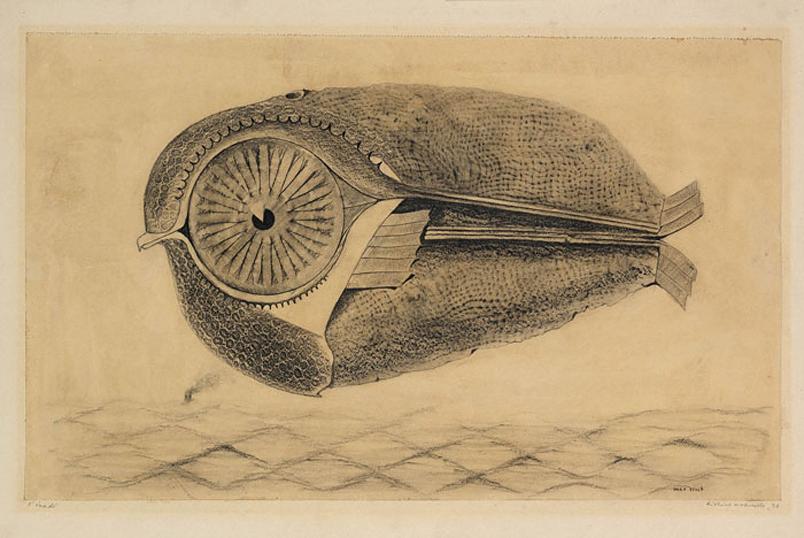 Max Ernst, L'évadé
