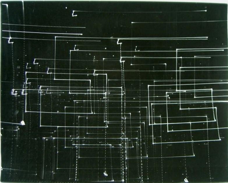 Antoni Mikołajczyk, Zapis świetlny 3, 1980-82, fotografia, 48,5x59,5cm