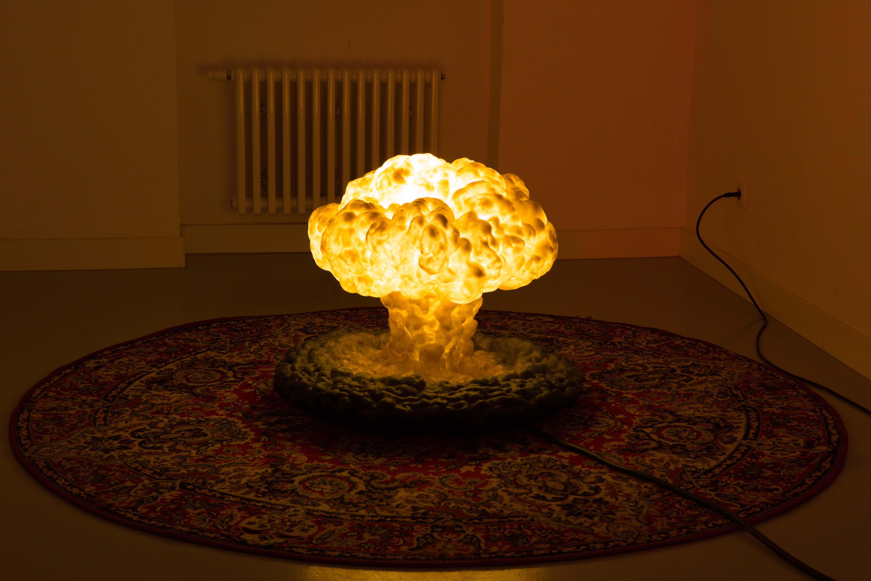 Olaf Brzeski, Pokojowe historie (Little Boy), instalacja, 2006