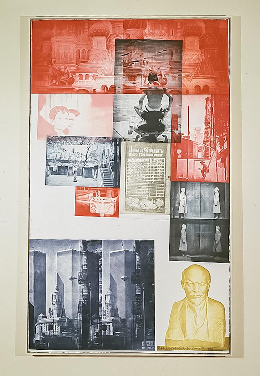 Robert Rauschenberg, Soviet / American Array I, 1988-91, fotograwiura, dzięki uprzejmości Robert Rauschenberg Foundation