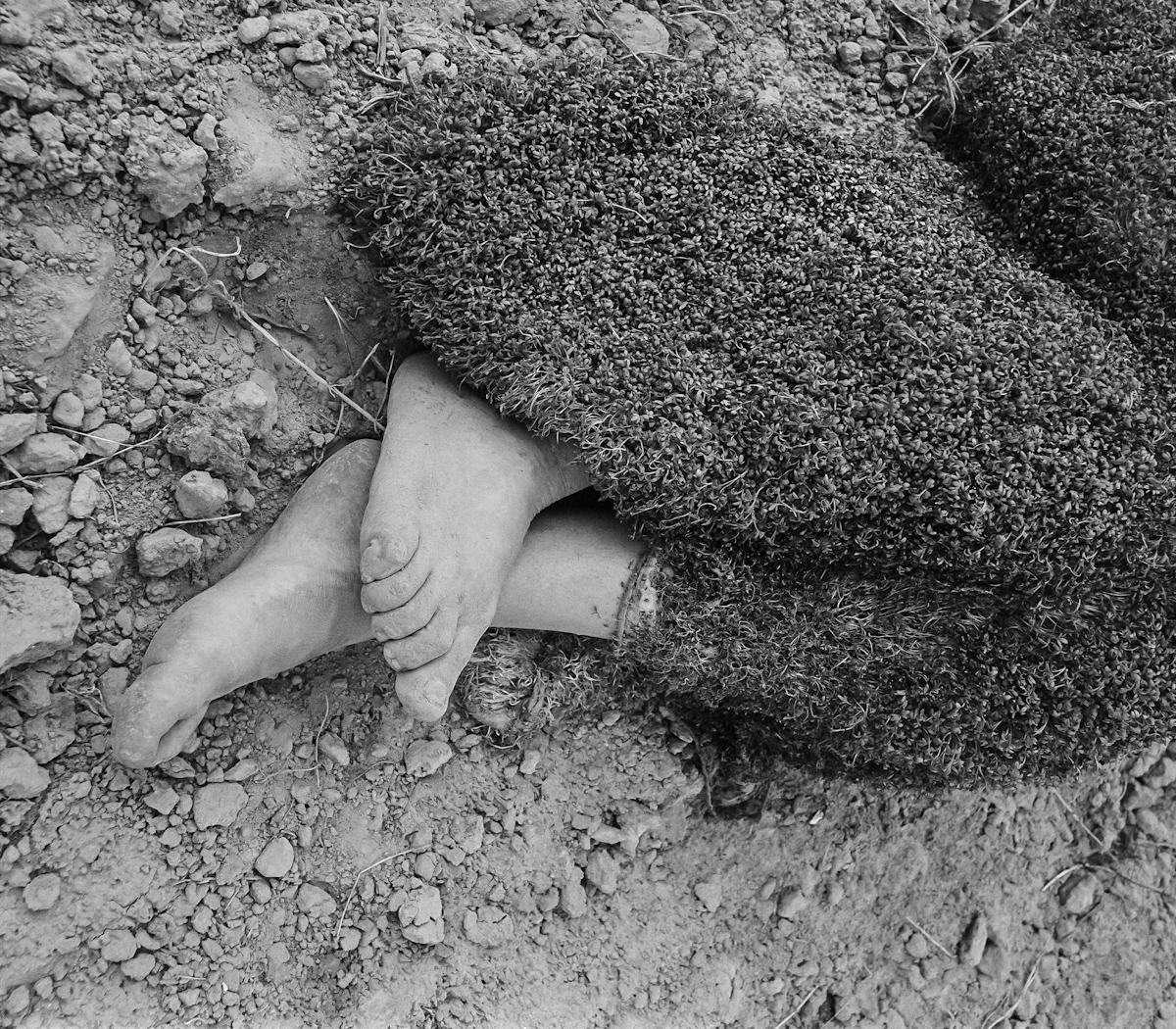 Teresa Murak, Abramowice Prywatne, 1985, fot.Maciej Musiał