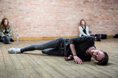Ulotny Przemek Kamiński. Fot.Jakub Wittchen for Art Stations Foundation byGrażyna Kulczyk
