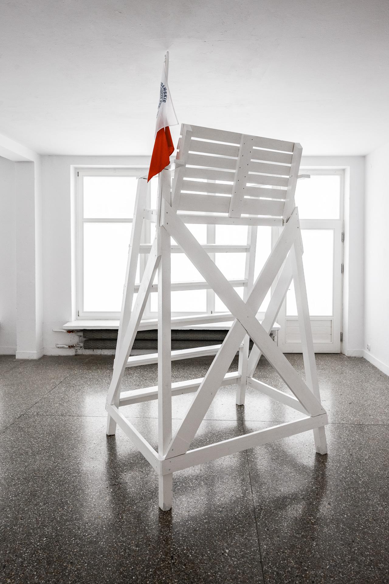 Julita Wójcik, Bez widoków, widok wystawy, dzięki uprzejmości Gdańskiej Galerii Miejskiej