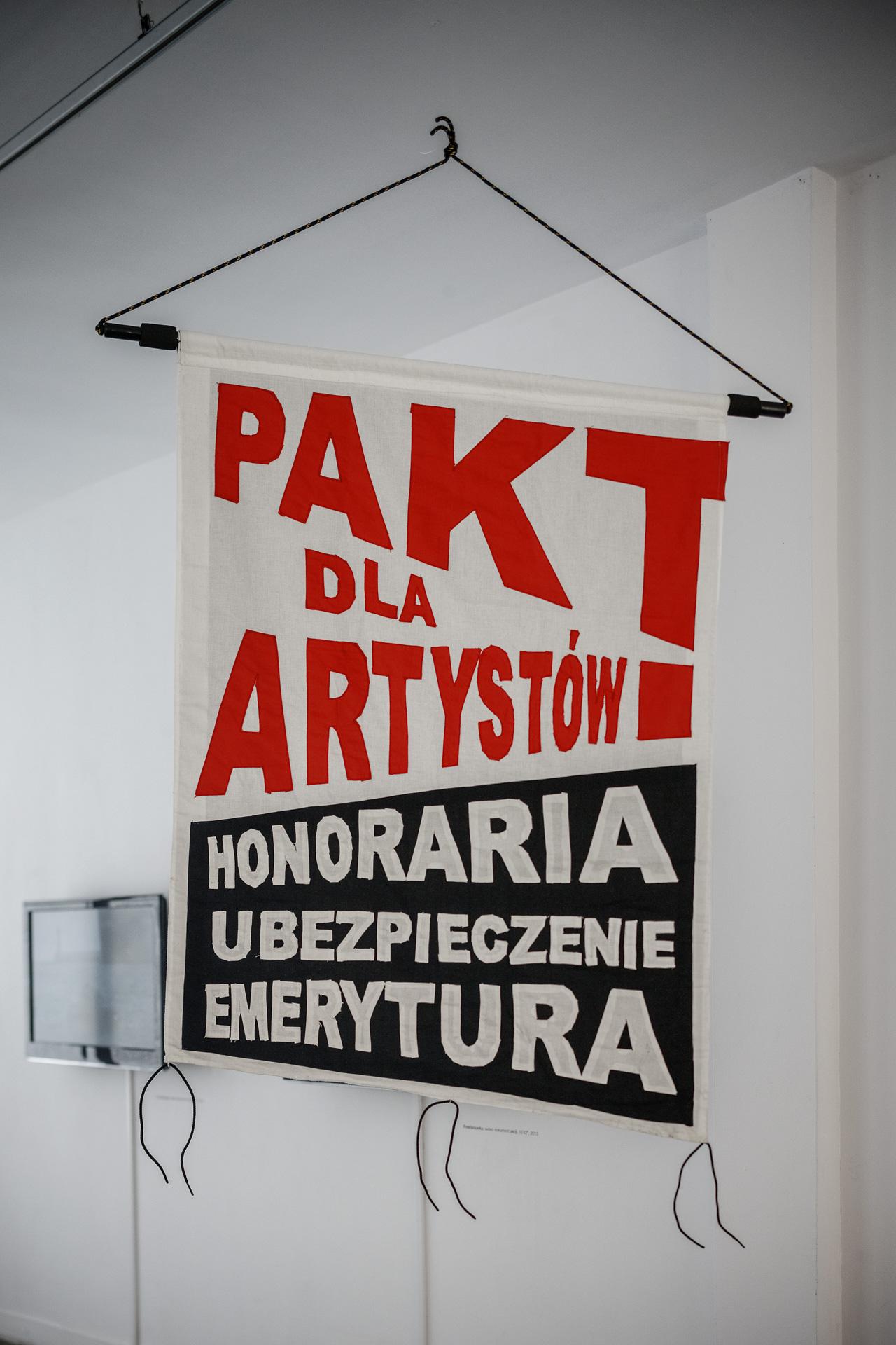 Julita Wójcik, Bez widoków, dzięki uprzejmości  Gdańskiej Galerii Miejskiej