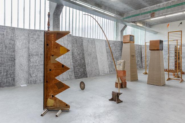 Teodor Graur / Cristian Rusu, M, widok wystawy, dzięki uprzejmości galerii Plan B