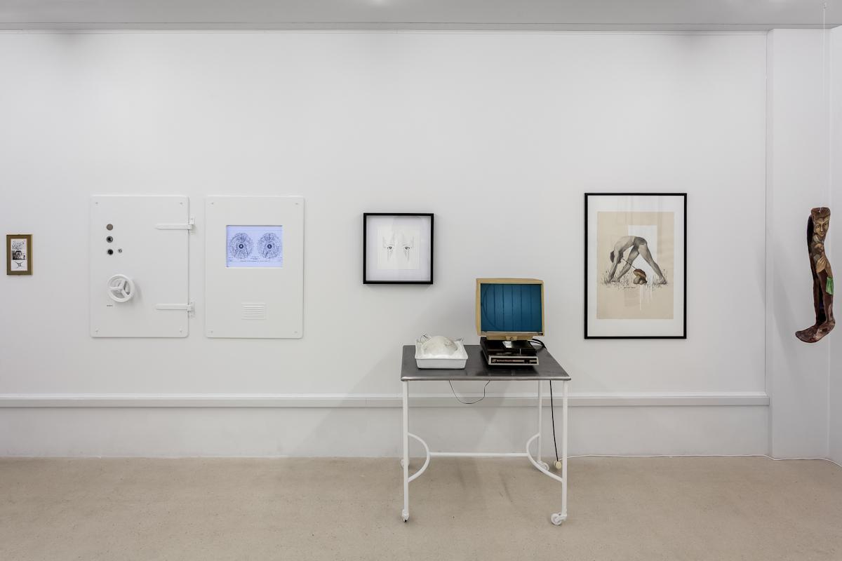 Robert Kuśmirowski, KREW- WERK, widok wystawy, dzięki uprzejmości Fundacji Galerii Foksal