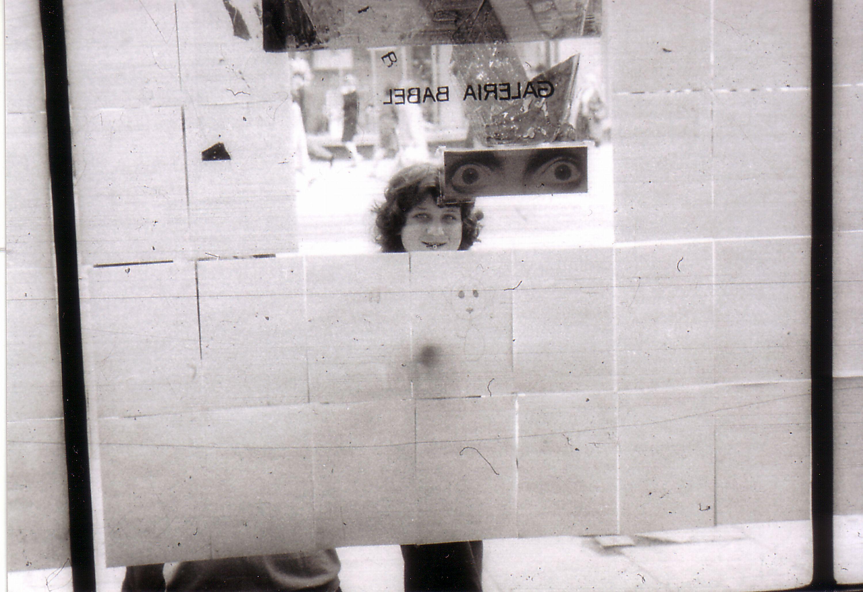 Galeria Babel, akcja rysunkowa publiczności, maj 1972