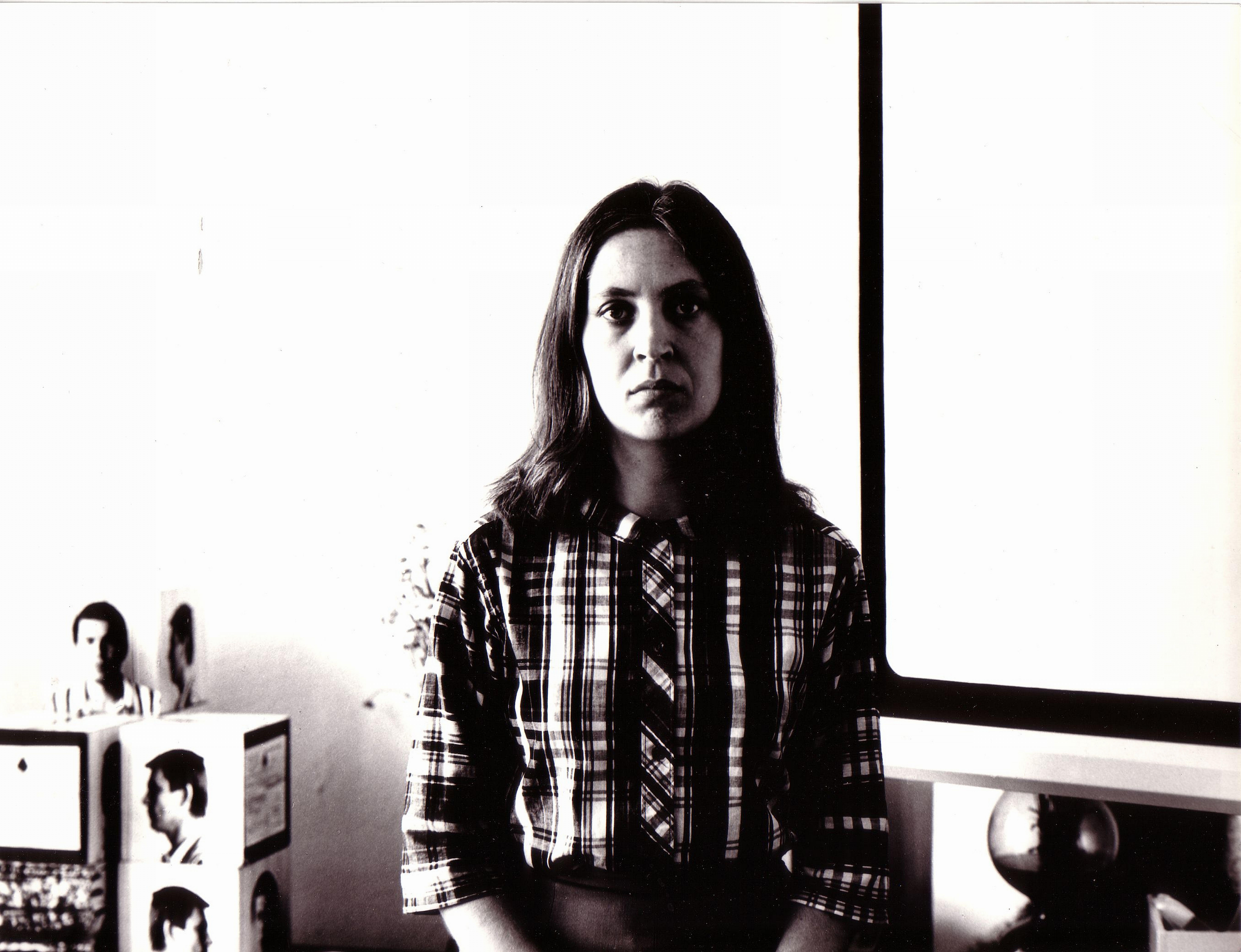 Barbara Kozłowska, portret, autor: Andrzej Lachowicz, 1970
