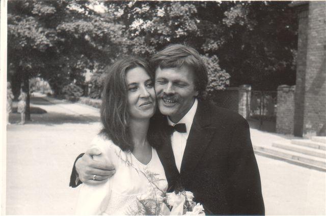 Barbara Kozłowska iZbigniew Makarewicz, ślub