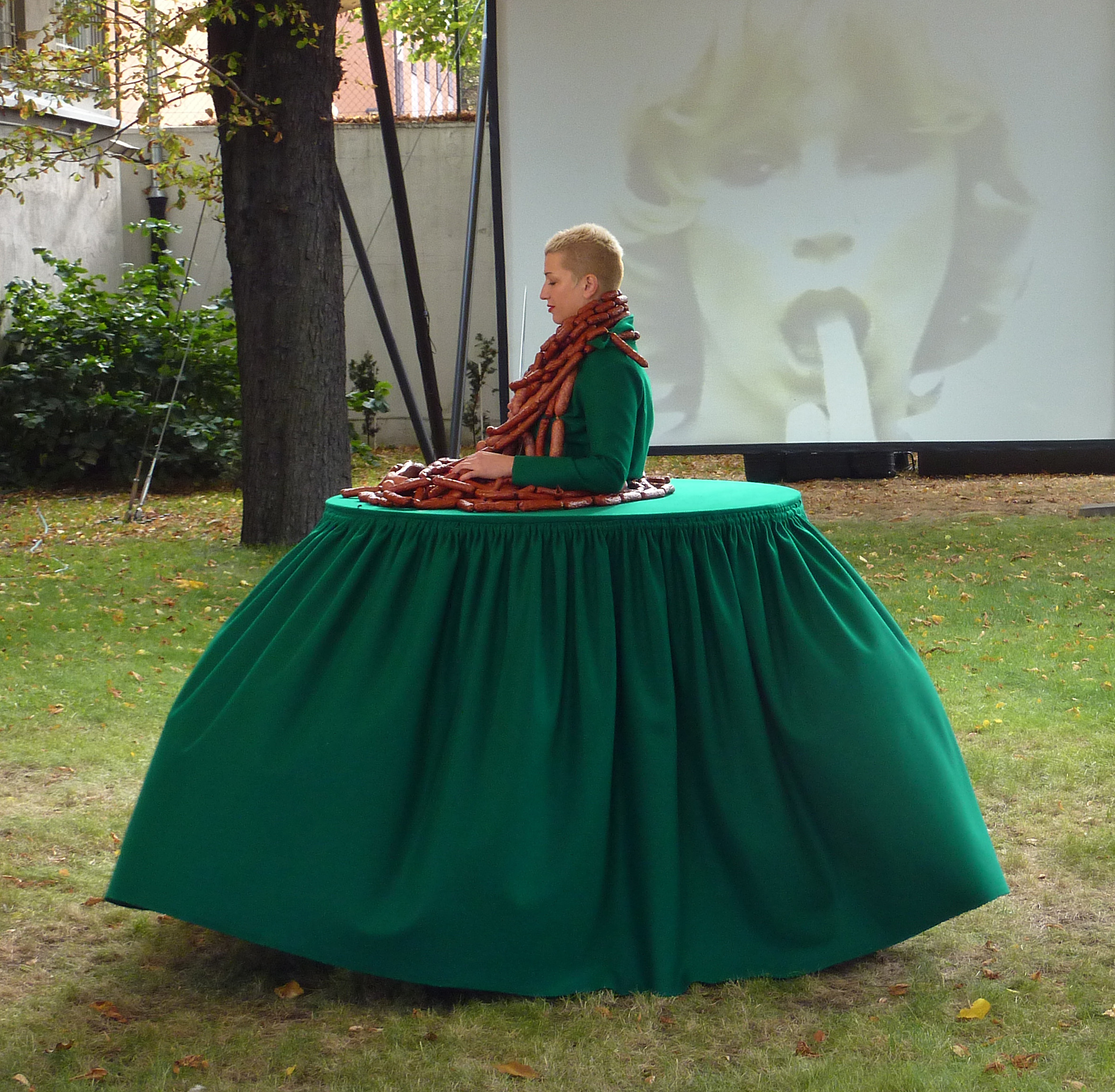 Aleksandra Ska, OAA, performance, Muzeum Sztuki wŁodzi, 2012