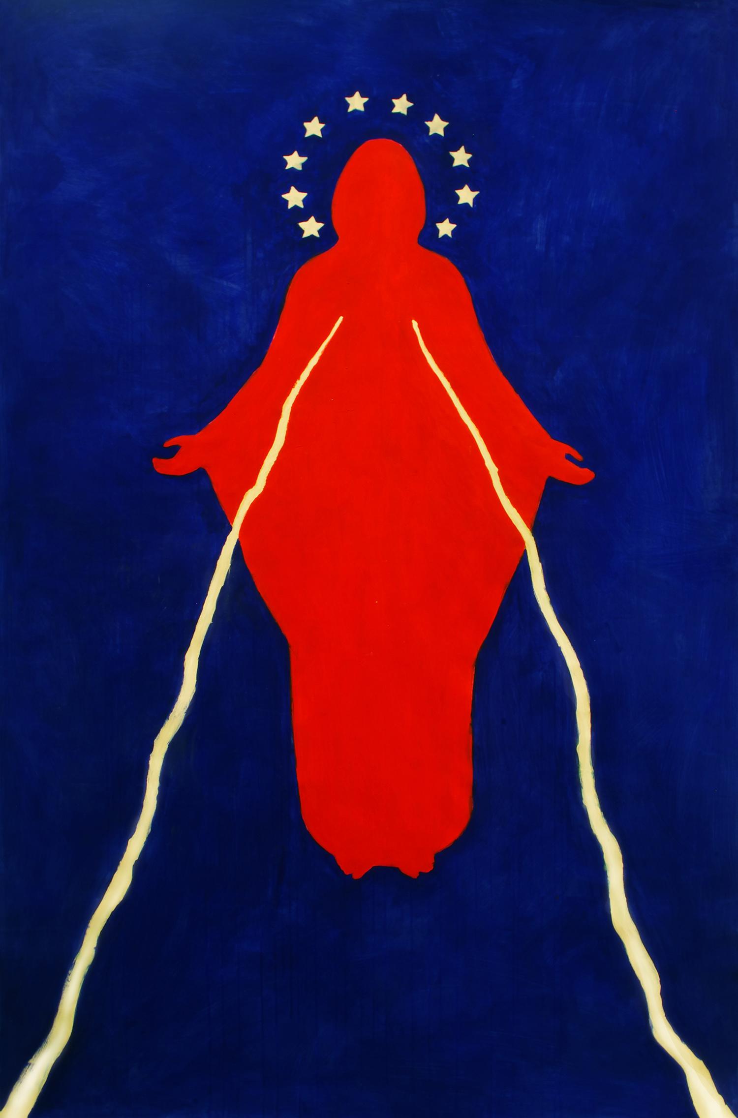 Magdalena Lara, Żywić ibronić, 230 x 152 cm