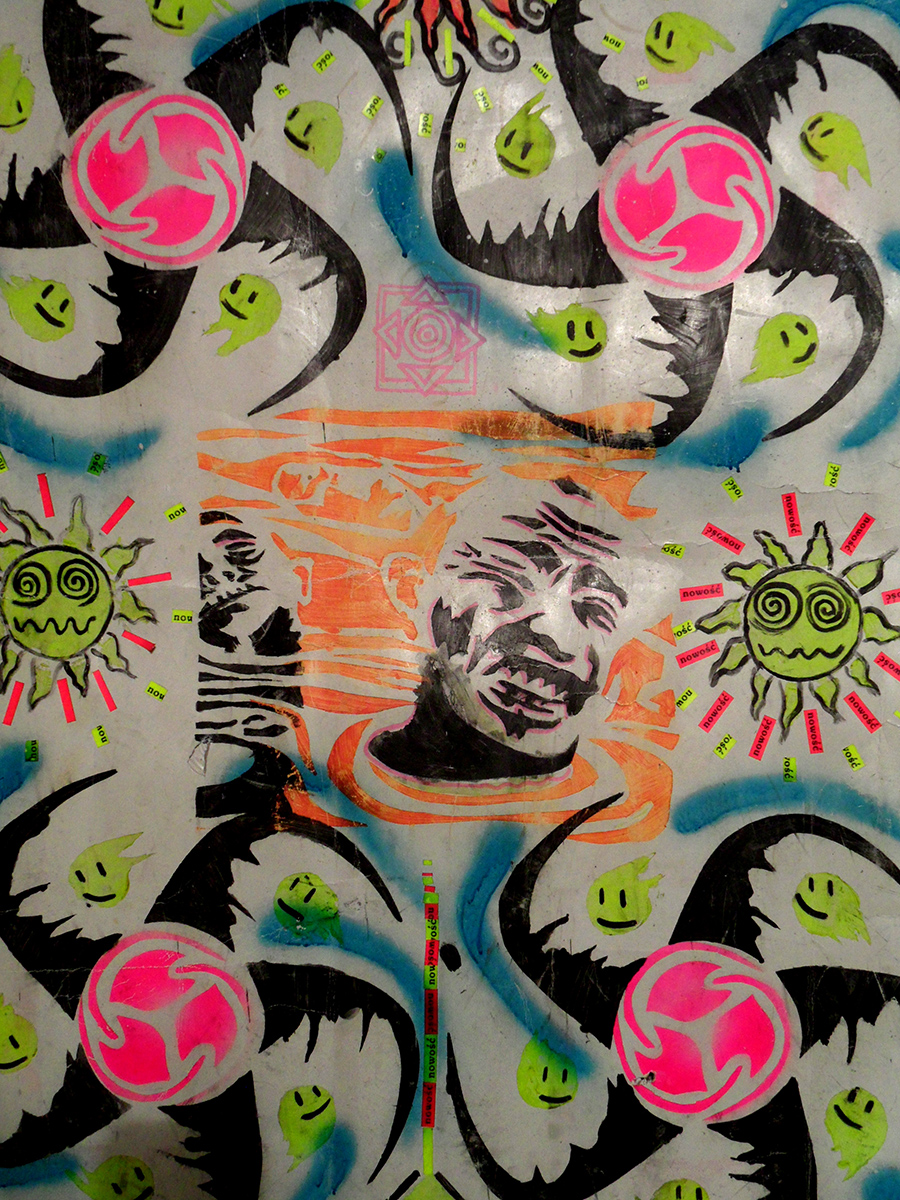 Karol Suka, Acid, kolaż, 1991