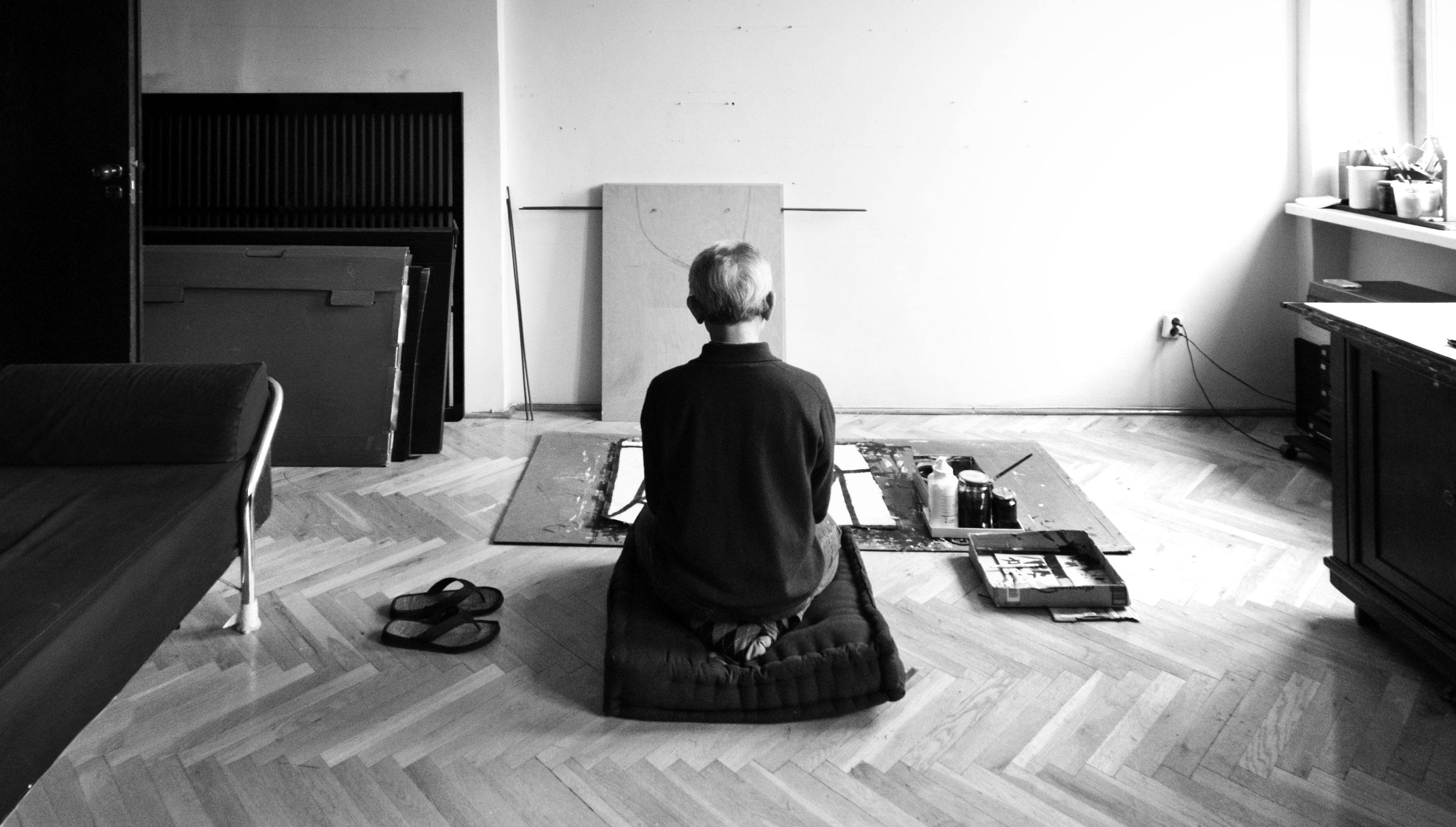 Koji Kamoji wpracowni, 2012