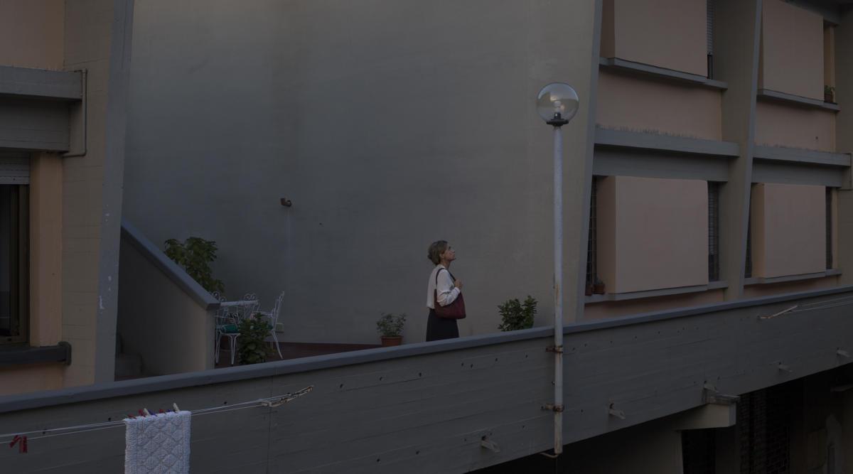 Karolina Breguła, kadr zfilmu Światłowstręt, 2016