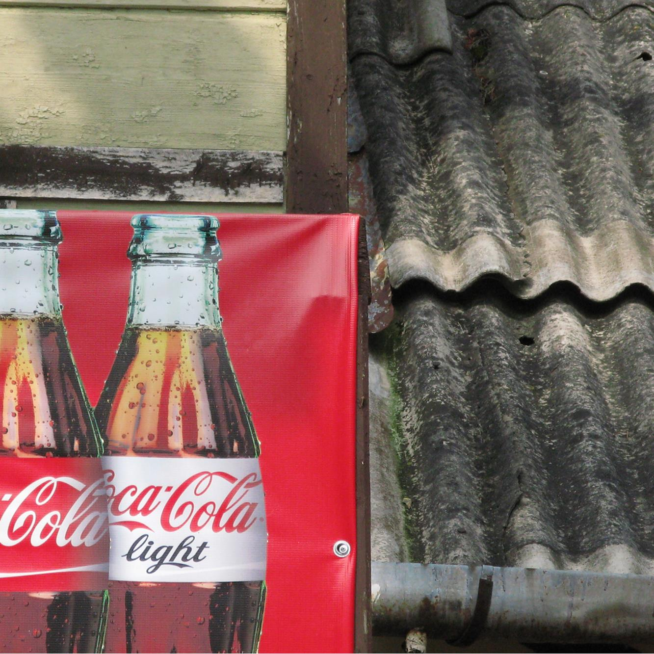 "Jan Bortkiewicz, ""Coca-cola"", 2013, fotografia, 100 × 100 cm"