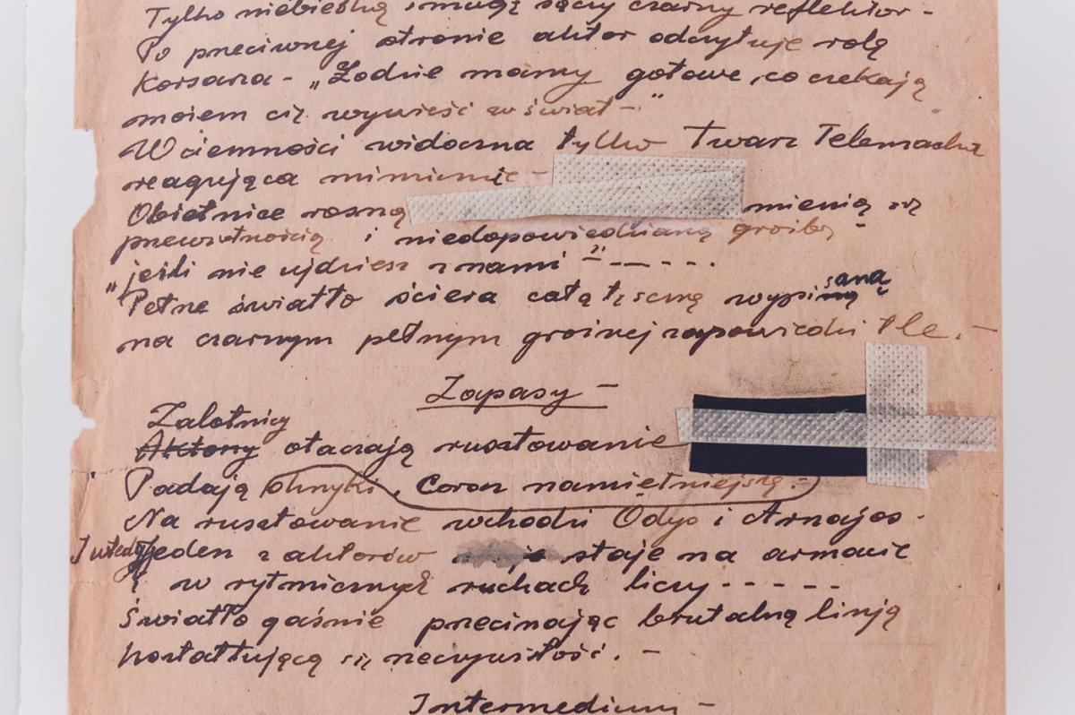 """Tadeusz Kantor wZbrojowni. Brudnopisy, Multipart"" wZbrojowni Sztuki"