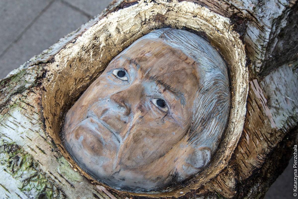 Lech Kaczyński wpniu brzozy