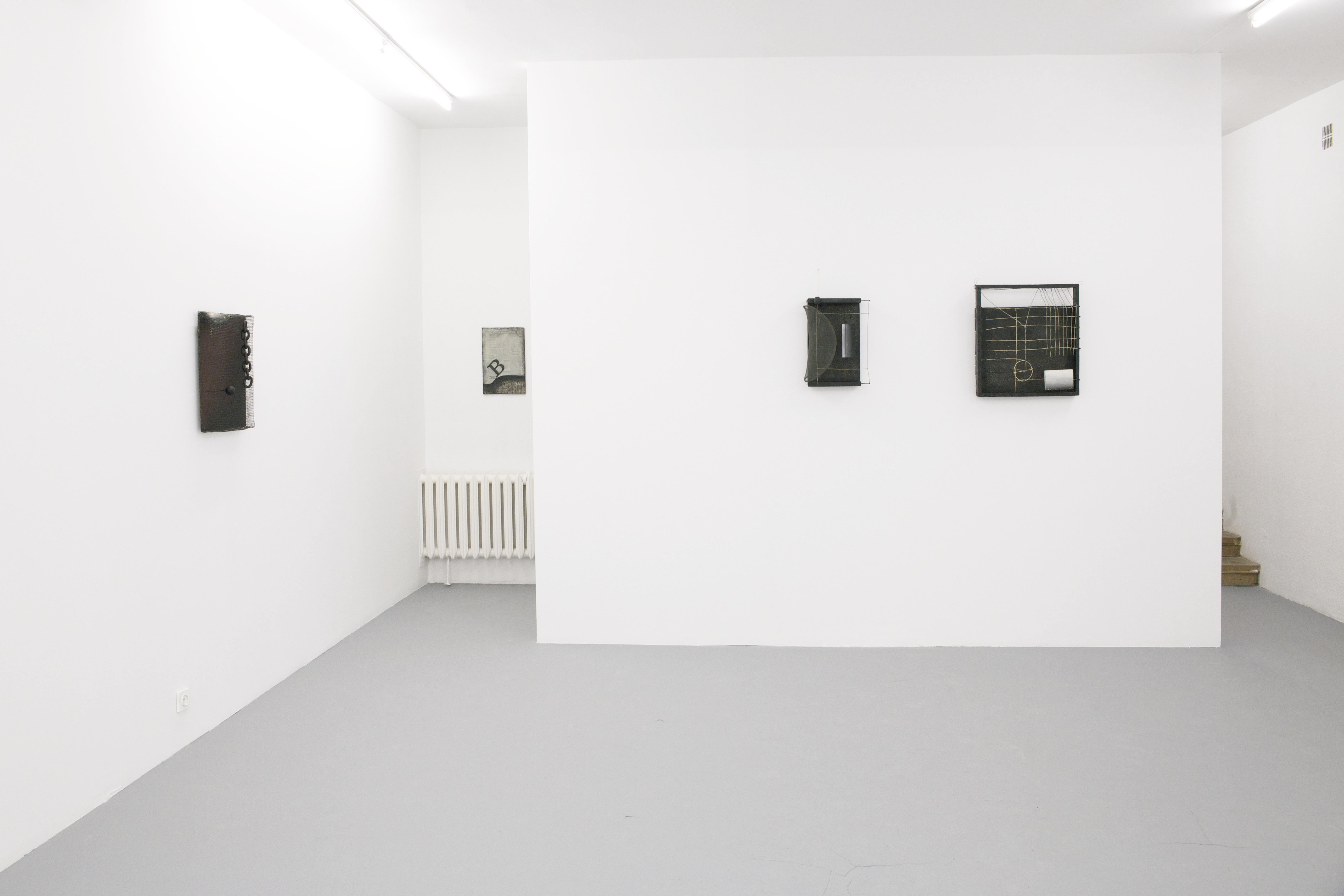 """Wystawa, Edward Krasiński """"B"""", 2013, """"Obrazy przestrzenne"""", 1962-63, fot.Fundacja Galerii Foksal"""