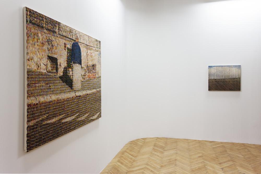 Bartek Materka, beztytułu, 2012; Widok zokna pociągu, 2012,