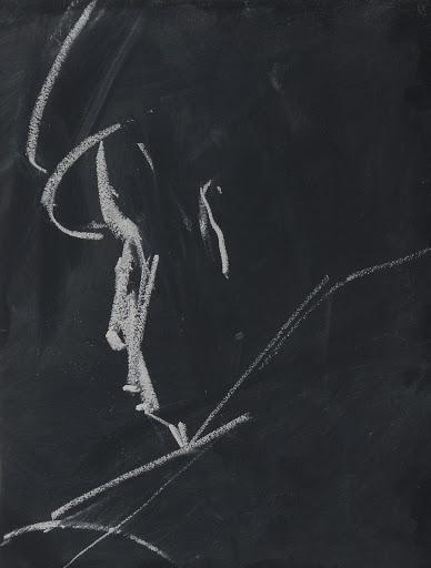 Rafał Bujnowski, zserii Arsoniści, kreda natablicy, 2013