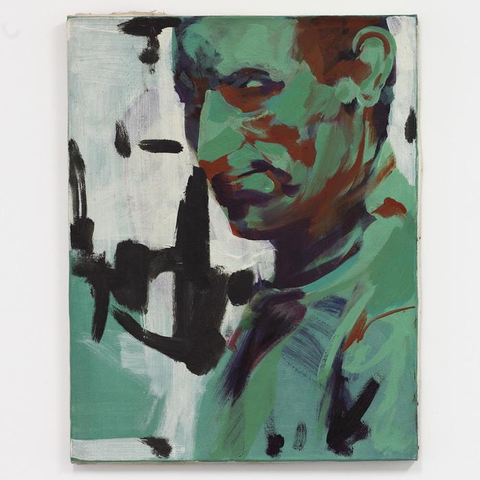 Ion Grigorescu, Navetistii (Dojeżdżający dopracy), olej napłótnie, 1972