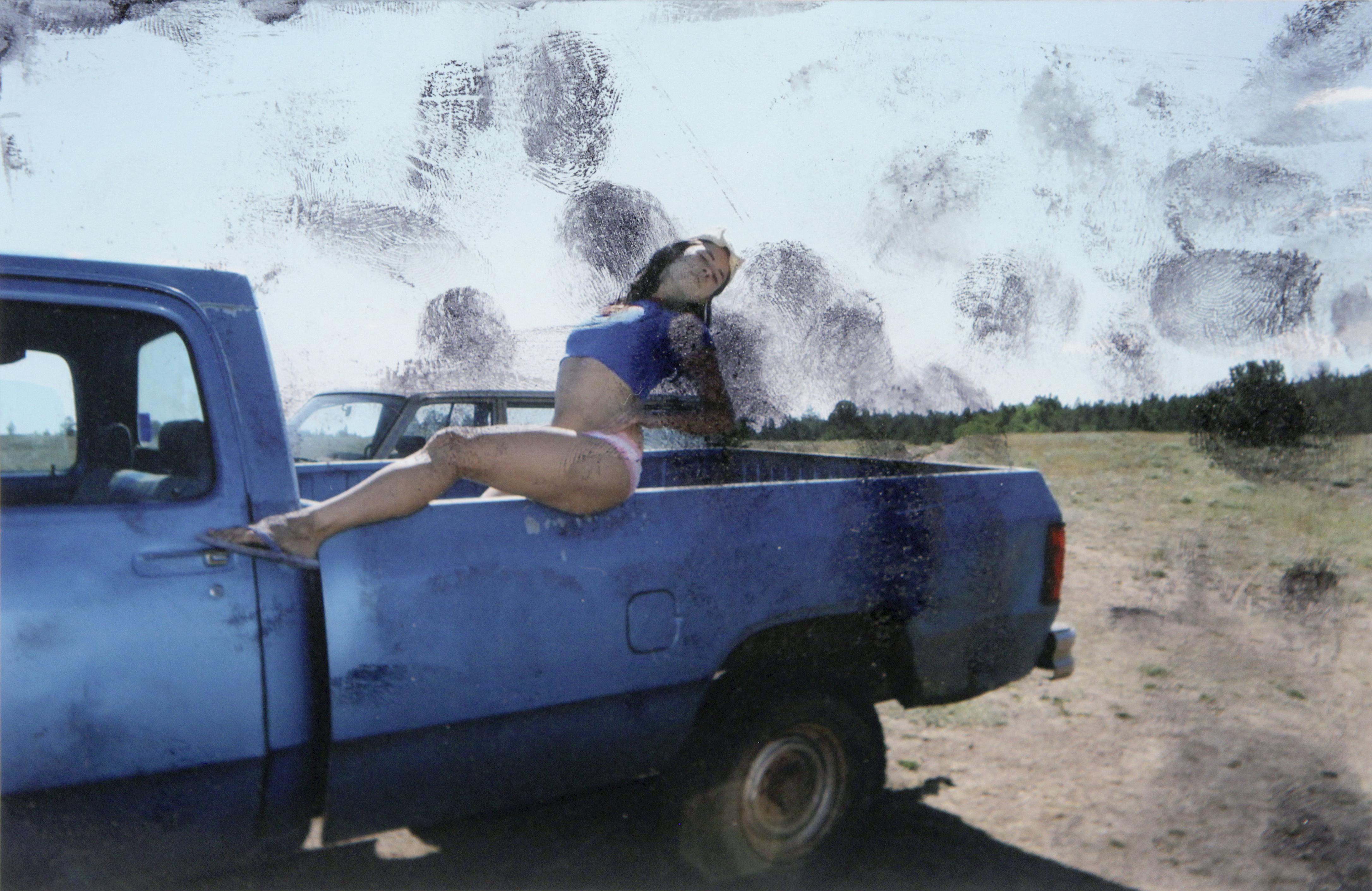 Laurel Nakadate, zserii Lucky Tiger (Tygrys szczęściarz), fotografia, tusz, 2009